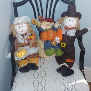 unknown Accents - 4 pc harvest/fall/thanksgiving decor set